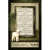 Psalm 23:1-3