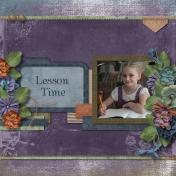 Abigail's Lesson Time