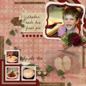 Stephen's First Pie