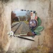 Waterbury, VT Railroad Tracks