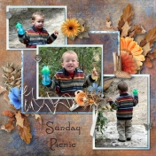 Caleb on a Sunday Picnic