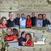 Dad and Aunt Carol