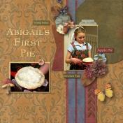 Abigail's First Pie