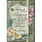 Psalm 19:14 card