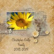 Christopher Galla Family 2018-2019