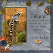 Delight- Kipling