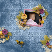 Sweet Edith in the Stroller