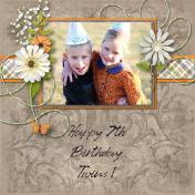 Happy 7th Birthday, Twins!