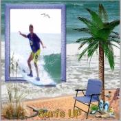 Seth Surfing Winter Madness 2015