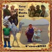 Gobi Desert Trip Time for Boots