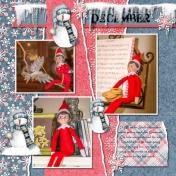 Elf on the Shelf Times 3