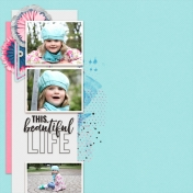 Layout Templates Kit #68-kit The good life March 2021