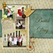 Batik day~