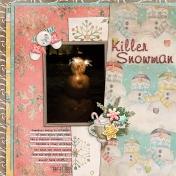 2013 Sparkler Snowman