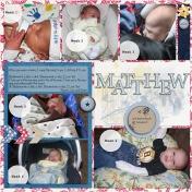 2010 Matthew's First 6 Weeks