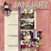 January in Kindergarten