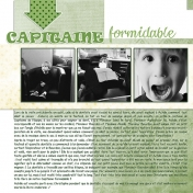 Capitaine formidable (left page)