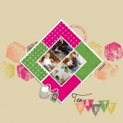 Tea Party (right page)