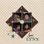Jouer au lynx (right page)