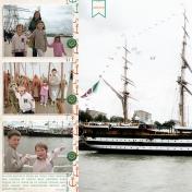 La Grande Armada (left page)