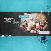 Creepy smurfs