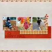 Hapy Fall (right page)