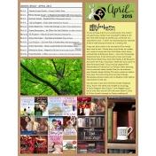 Book Journal- April 2015