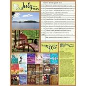Book Journal- July 2015