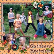 Outdoors Exercises