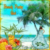 Beach Party Girl