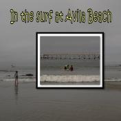 Surf Lesson at Avila Beach