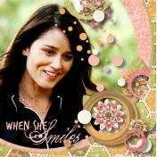When She Smiles