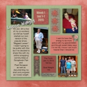 Project Life Week 1 page 2