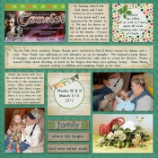 Project Life 52 ~ Week 10 & 11