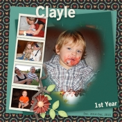 Clayle's 1st Year