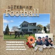 Birthday Football