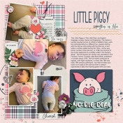 Little Piggy (counting toes)