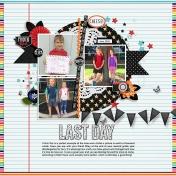 Last Day Second Grade (Jacob)