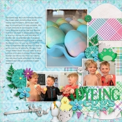 Coloring Eggs 2019