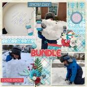 Bundle Up It's Winter