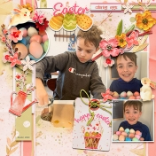 Coloring Eggs 2020: Sam