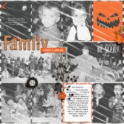 Family Ghosts and Goblins