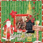 Our Xmas Tree 2019