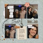 Reina with Josh