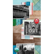 Travelers Notebook Layout Templates Kit #12 / 01