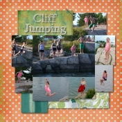 Cliff Jumping- Right