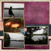 Nick's Lake 2014- Campsite- Right