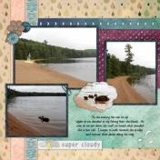 Nick's Lake 2014- Beach