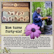 Hidden Pond- Mom's Birthday