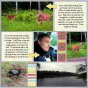 Nick's Lake 2014- Deer & Snapping Turtle